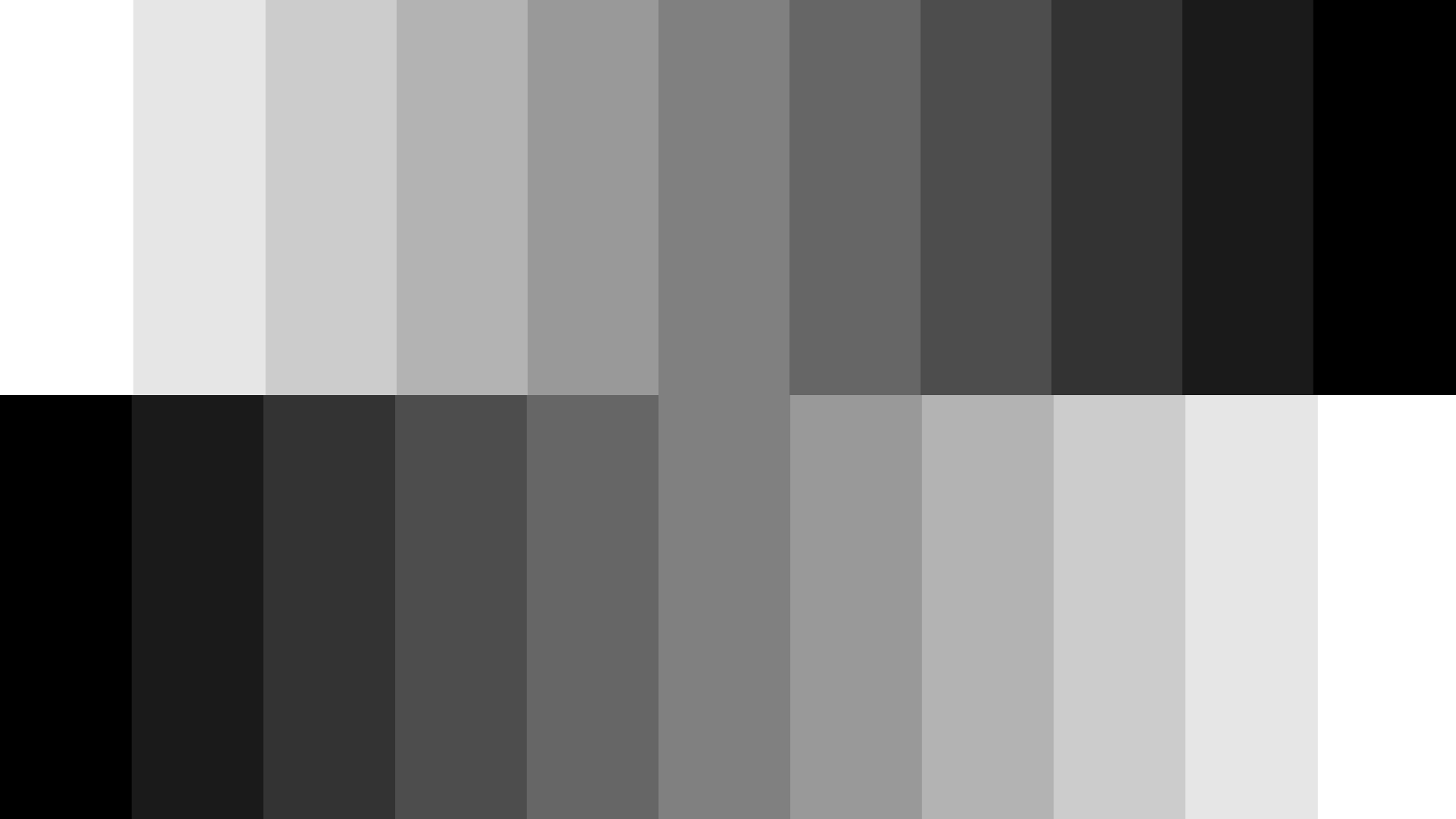 Grayscale letters on design for Color gray or grey
